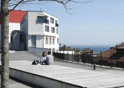 Espace de l'Europe et place de la Gare – Neuchâtel